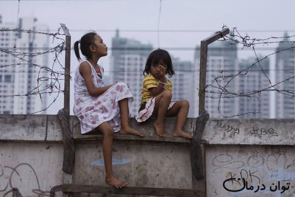 کودکان خیابانی اندونزی