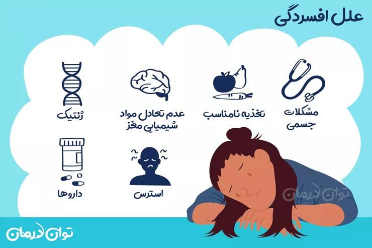 علل افسردگی